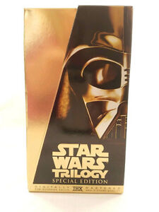 Star Wars Trilogy-Remastered Box set on VHS-excellent condition