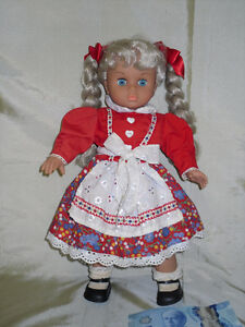 Vintage Ethnic costumed Doll