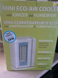 Mini eco Air cooler with Ionizer & Humidifier