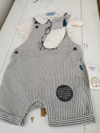 M&S Peter Rabbit edition baby jump suit