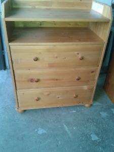Baby change table dresser SOLID PINE!!!!