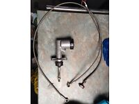 Wilwood master cylinder 3/4 with hoses