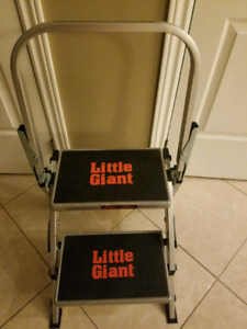 2 LITTLE GIANT STEP LADDERS