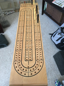 Jumbo Cribbage Board - Holman Luggage Company