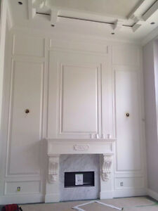 Crown Moulding Coffered Ceiling Wainscoting Baseboard Oakville / Halton Region Toronto (GTA) image 3