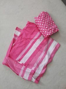 Girl crib bedding-$15 obo