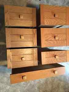 Drawers - Solid Oak Front