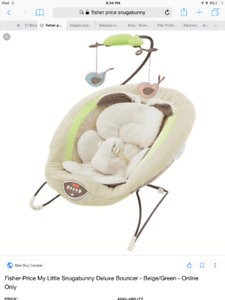 Fisher Price Snuggabunny Bouncer