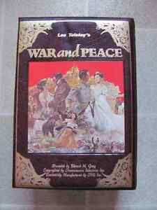 VHS collectors edition War and Peace $7
