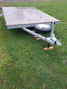 Utility Trailer large deck MANY extras hold a UTV also $575.00
