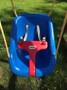 Little Tikes 2 in 1 Snug n Secure Swing