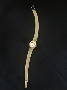 Women's Vintage Omega Gold Watch