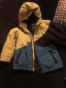 BOYS WINTER JACKET  SIZE 8    BILLABONG     VERY CLEAN