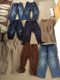 Boys trouser bundle 2-3 years