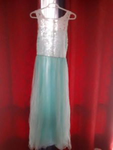 Light blue lacy dress. Size small