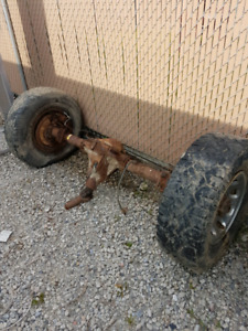 Ford Super duty axles