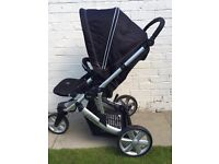 Britax B-Smart 3-1 Travel System. Includes Car Seat & IsoFix Base