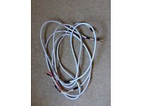 2.5m pair of Chord Odyssey 2 speaker cables