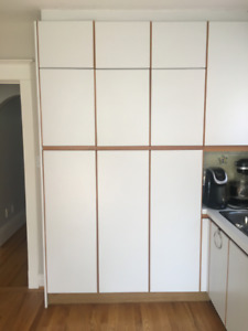 KITCHEN CABINETS - real wood / great condition / magnet closing