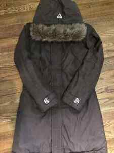 Aritzia TNA Winter Parka - Size Medium - Brown Colour
