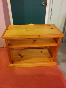 Solid Wooden TV table
