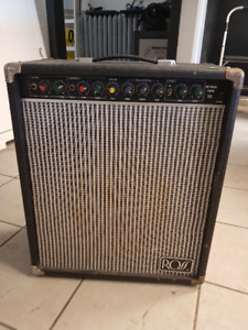 Vintage Ross Keyman Twin 22 Amplifier