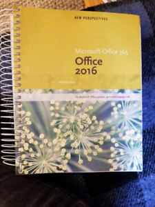 Microsoft Office 365- 2016 Introductory