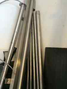 10 Stainless Steel Posts - Best Offer