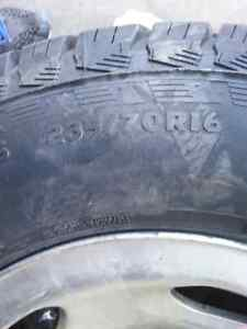 Two truck tires. 235/70R16