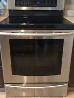 Samsung Stove with 4 year Warranty