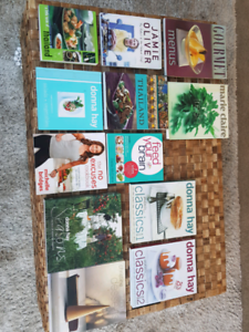 Bulk lot of Gourmet Cook books