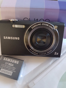 Samsung EC-SH100 Wi-Fi Digital Camera with 14.2 MP, 5x Optical Z