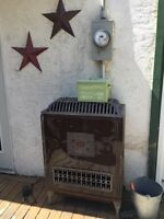 Antique Water Heater for Decor