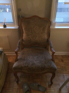 Comfortable Vintage Armchair