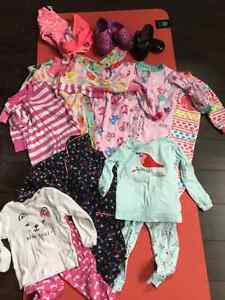 Baby Girls Clothes for sale 18 mos + 18-24 mos bag of 48 items