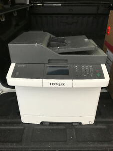 lexmark CX410de printer/scanner/copier/fax