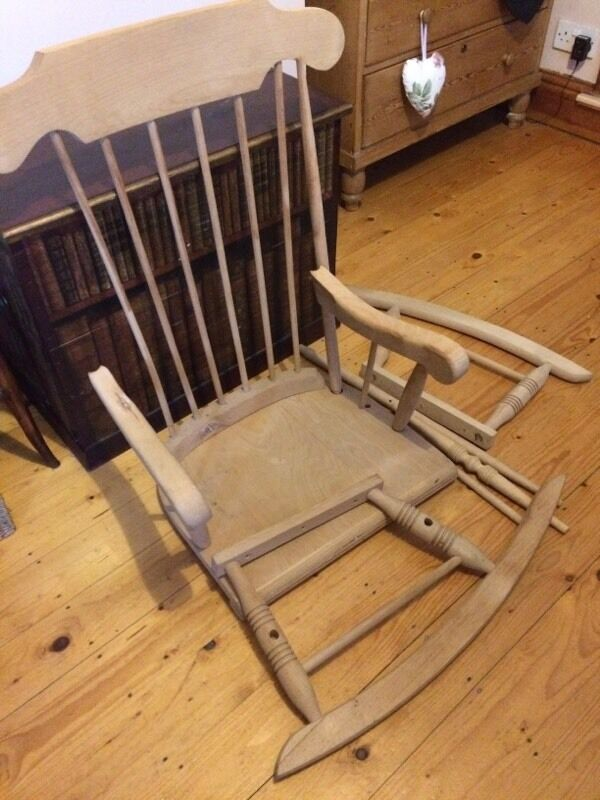 Self assembly rocking chair new