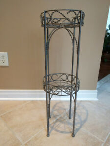 Metal double plant stand - like NEW
