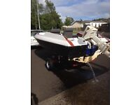 18 ft speed boat and trailer
