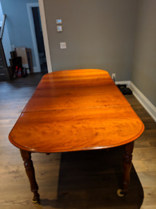Fine Cherry Dining Room Table