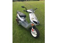 Adly 100cc 2 stroke moped