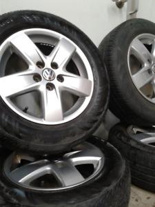 Mags VW 15'' + pneus 4 saisons