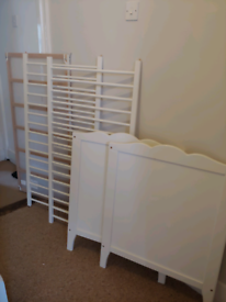 Ikea Hensvik Cot White