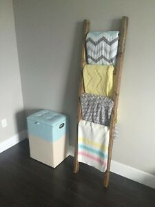 Rustic Blanket Ladder *Brand New*