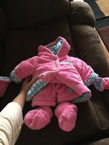 Baby girl snow suits