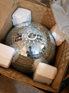 "20"" chauvet mirror ball"