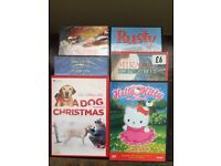 6 children's dvds