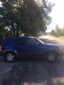 Ford Escape a vendre
