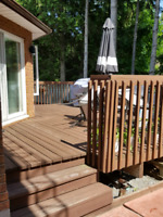 Looking for deck and wooden shed services