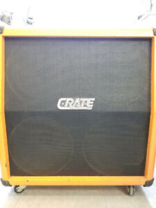 Cabinet de guitare Crate 4x12 Made in USA Seulement 349.95$